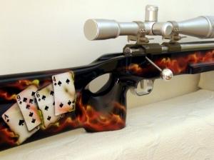 Carabine Flamme