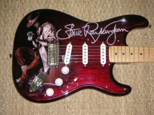 Guitare SRV