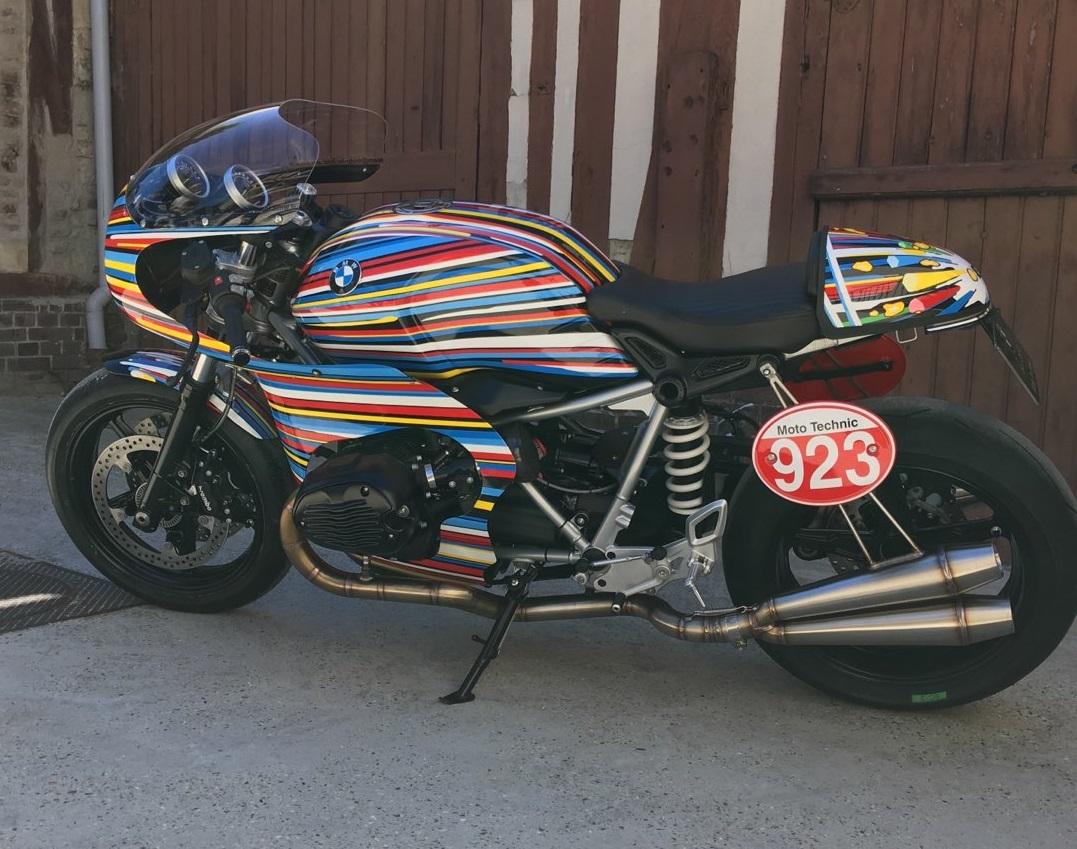 Décoration Moto Trike Design Dessin Peinture Perso Aerographe