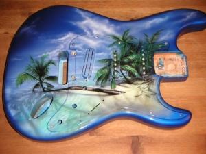 Guitare Tahiti