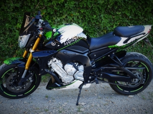 yamaha FZ1 monster energy
